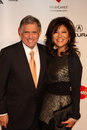 Julie Chen,Les Moonves Stock Image