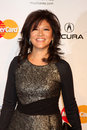 Julie chen los angeles feb arrives at the muiscares gala honoring barbra streisand at convention center on february in los angeles Stock Image