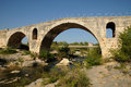 Julien bridge in bonnieux in provence france le pont Royalty Free Stock Photo