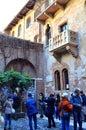 Juliet house,Verona,Italy Royalty Free Stock Photo