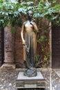 Juliet's statue in Verona Royalty Free Stock Photo