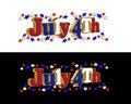 July 4th Border Royalty Free Stock Images