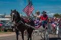 July 4th parade Royalty Free Stock Photo