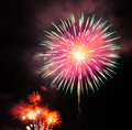 July th fire works celebration Royalty Free Stock Image