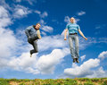Jump Stock Photography
