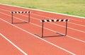 Jump hurdle Royalty Free Stock Photo