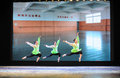 Jump vacated the national dance training in december department of of students are for annual graduation performance report in Stock Photos