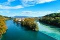 Colliding Rivers In Geneva