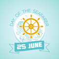25 june Day of the Seafarer Royalty Free Stock Photo