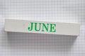 June Royalty Free Stock Photo