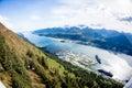 Juneau bay, Alaska Royalty Free Stock Photo