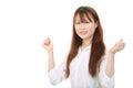 Junge asiatische Geschäftsfrau Stockfotografie