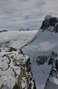 Jungfraujoch mountain ice in switerland Royalty Free Stock Photo