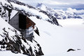 Jungfraujoch top of europe is the high point in swiss alps the highest railway station in europe is located meters above sea level Stock Photo