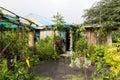 Jungle bungalow in the tropics vanuatu Royalty Free Stock Photography