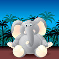 Jungle elephant Royalty Free Stock Photography