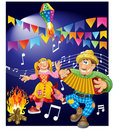 Junina Party Theme Royalty Free Stock Photos