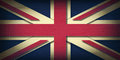 The junion jack union with d depth and vignetting retro style Stock Images