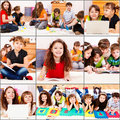 Junior students actiities Royalty Free Stock Photo