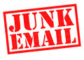 JUNK EMAIL Royalty Free Stock Photo