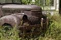 Junk Yard Truck Stock Image