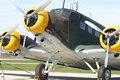 Junkers JU 52 Royalty Free Stock Photos