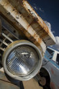 Junkyard Headlight Royalty Free Stock Images