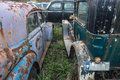 Junkyard in maldonado province uruguay latin america Royalty Free Stock Photo