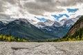 Jura canyon hiking views kananaskis country alberta canada Royalty Free Stock Photography