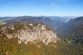 Jura rocky mountains switzerland spetember Stock Image