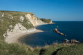 Jurassic Coast view Royalty Free Stock Photo