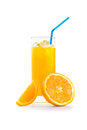 Jus d orange Photographie stock
