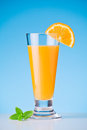 Jus d orange Photo libre de droits