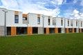 Just built modern family row houses