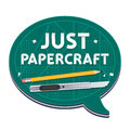 Just Papercraft Poster Royalty Free Stock Photo