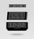 Just in time design Royalty Free Stock Photo