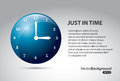 Just in time Royalty Free Stock Photo