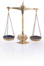 Justice scales Royalty Free Stock Photo