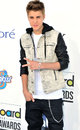 Justin Bieber arrives at the 2012 Billboard Awards Royalty Free Stock Photography