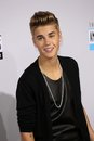 Justin bieber at the th american music awards arrivals nokia theatre los angeles ca Royalty Free Stock Photo