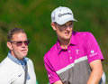 Justin rose à l us open Images libres de droits