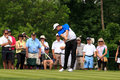 Justin rose at the memorial tournament in dublin ohio usa Stock Photos