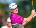 Justin rose på us open Arkivfoto