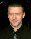 Justin timberlake alpha dogs world premiere cinerama dome theater los angeles ca january Royalty Free Stock Image