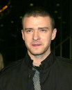 Justin timberlake alpha dogs world premiere cinerama dome theater los angeles ca january Stock Images