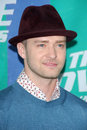 Justin timberlake arriving at the mtv movie awards sony pictures culver city ca Stock Photo