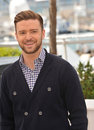 Justin timberlake at the photocall for his movie inside llewyn davis in competition at the th festival de cannes may cannes france Stock Image
