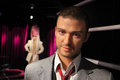 Justin timberlake wax figure of at madame tussauds in amsterdam Royalty Free Stock Photography