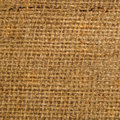 Jute canvas texture natural burlap hessian sacking Stock Photography