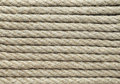 Jute rope detail of the texture Stock Images
